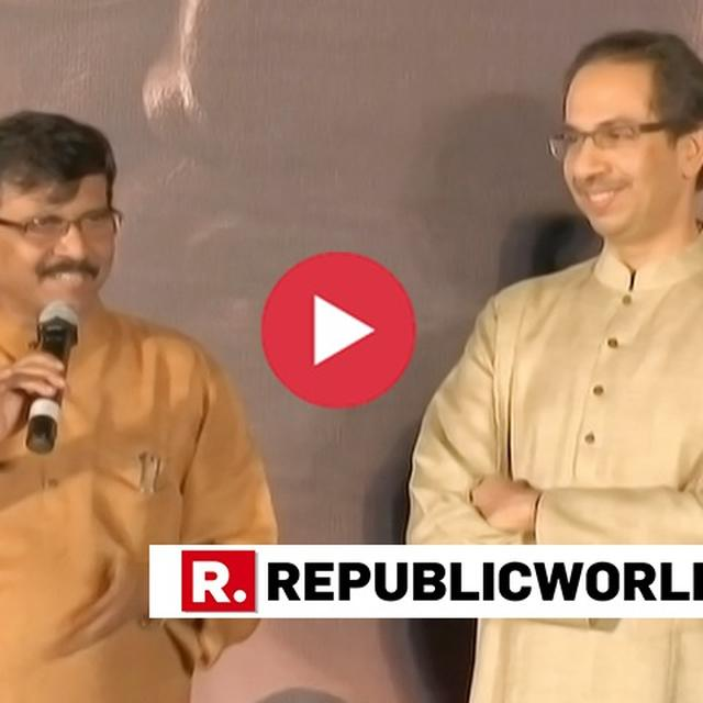 """HOPE FOR A QUICK RESOLUTION ON BABRI MASJID CASE IF NOT  QUICK RELIEF BY CENSOR BOARD,"" SHIV SENA CHIEF UDDHAV QUIPS AT 'THACKERAY' TRAILER LAUNCH"