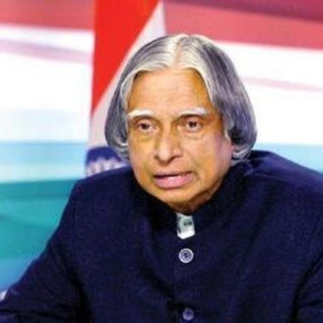 KALAM BACKED OUT OF BECOMING PRESIDENT AGAIN AFTER CONG DIDN'T SUPPORT HIM