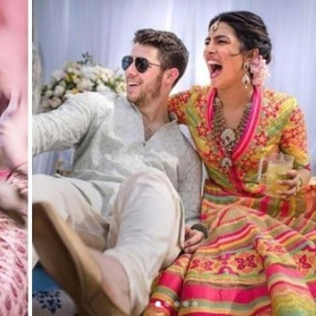 NICK JONAS HAD A SPECIAL WAY TO CONVEY LOVE FOR PRIYANKA CHOPRA DURING PRE-WEDDING RITUALS AND WE ARE REMINDED OF RANVEER SINGH