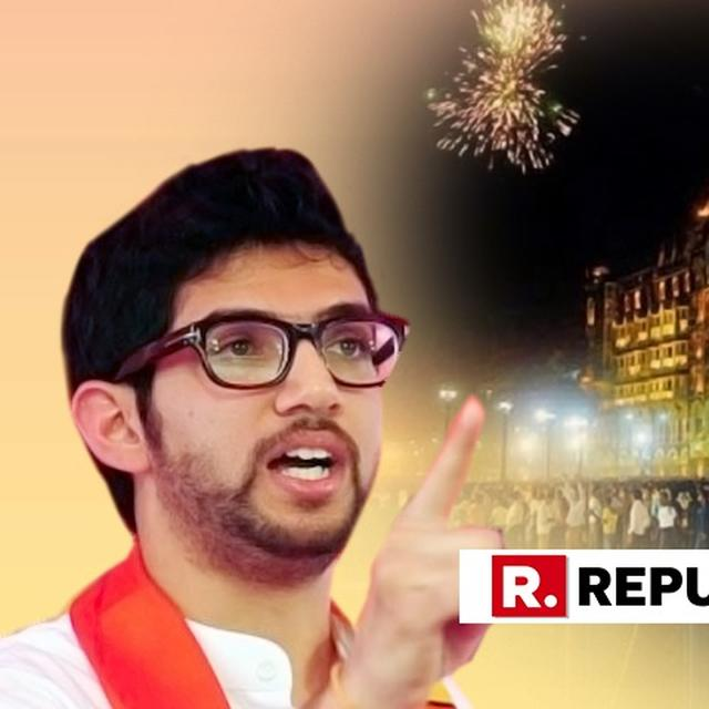 ADITYA THACKERAY WANTS CITIES OPEN '24X7' ON NEW YEAR'S EVE