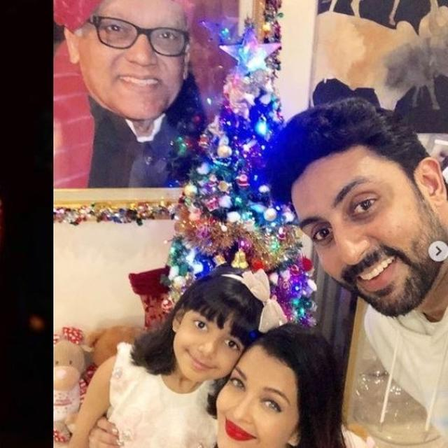 DEEPIKA PADUKONE HAD A SPECIAL MESSAGE FOR AISHWARYA, AARADHYA AND ABHISHEK BACHCHAN'S CHRISTMAS CELEBRATION