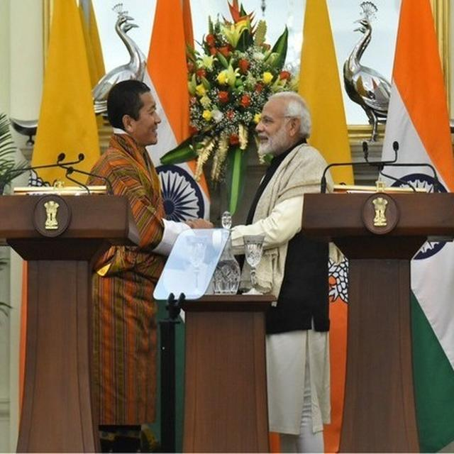 INDIA TO CONTRIBUTE RS 4,500 CR TO BHUTAN FOR 12TH FIVE-YEAR PLAN