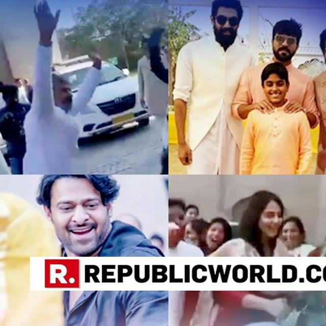 WATCH | SS RAJAMOULI'S UNMISSABLE DANCE AS HE WELCOMES HIS 'BAAHUBALI' ACTORS, OTHER TOLLYWOOD STARS FOR SON'S WEDDING IN JAIPUR