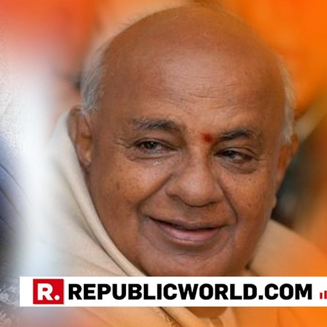 """I'M ALSO AN ACCIDENTAL PRIME MINISTER,"" QUIPS DEVE GOWDA AMIDST POLITICAL ROW OVER ANUPAM KHER STARRER"