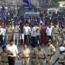 KOREGAON BHIMA ANNIVERSARY: SECURITY STEPPED UP AS PEOPLE PAY TRIBUTES AT WAR MEMORIAL