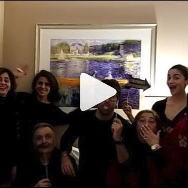 WATCH: THIS BOOMERANG FEATURING ALIA BHATT AND THE KAPOOR CLAN IS GOING VIRAL, TAKE A LOOK