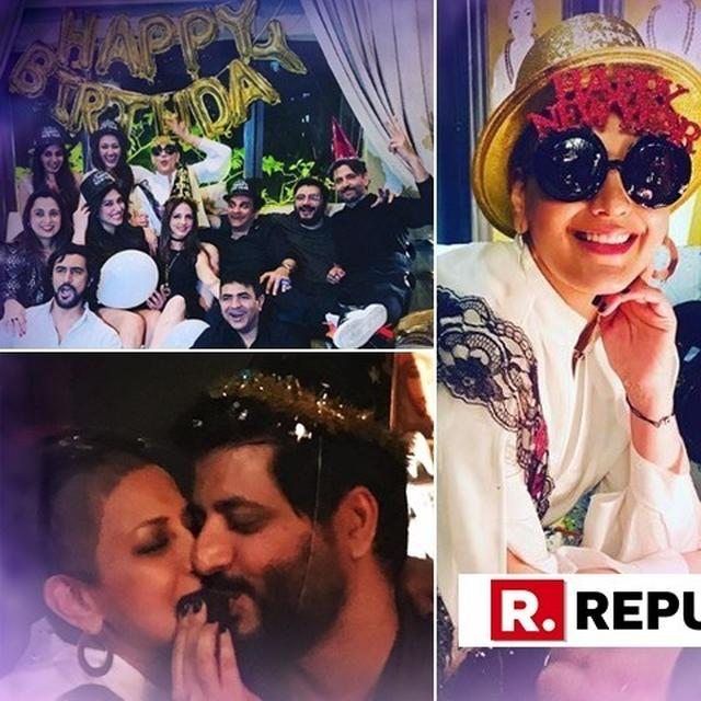 IN PICS | HRITHIK ROSHAN, OTHERS PARTY WITH SONALI BENDRE AS SHE TURNS A YEAR OLDER; SUSSANNE KHAN, GOLDIE BEHL'S NOTES FOR THE BIRTHDAY GIRL ARE AMAZING