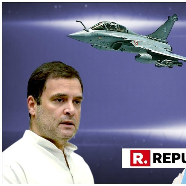 RAFALE DEAL: RAHUL DEMANDS ANSWERS FROM MODI ON PARRIKAR'S PURPORTED 'FILE IN BEDROOM' CLAIM