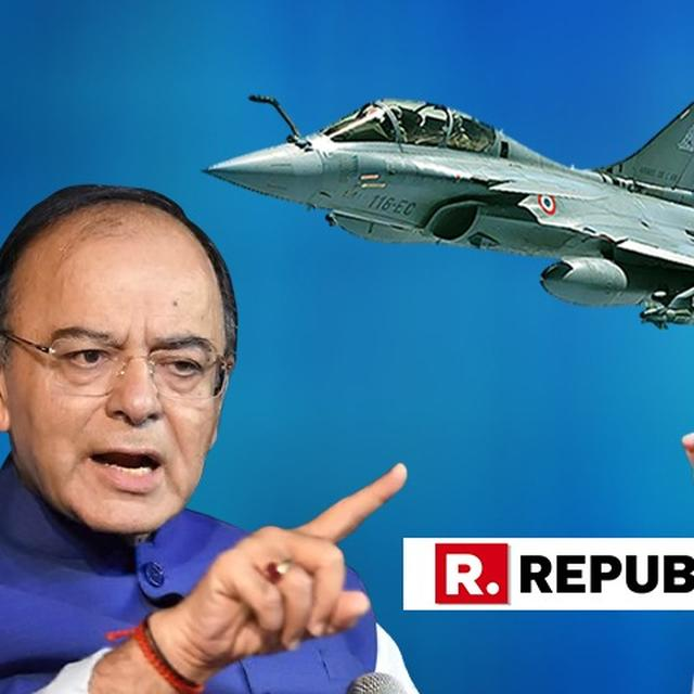 """IF HE AUTHENTICATES THE TAPE IN THE HOUSE, HE WILL BE GUILTY OF FORGERY, SO HE BACKTRACKS,"" ARUN JAITLEY ON WHY RAHUL GANDHI REFUSES TO AUTHENTICATE 'AUDIO TAPE' ON RAFALE IN PARLIAMENT"