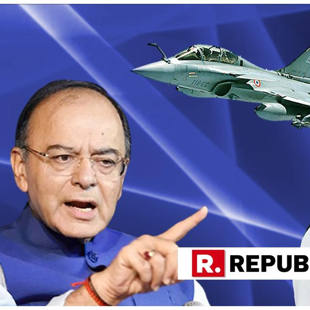 """RAHUL GANDHI DOES NOT HAVE BASIC ELEMENTARY SENSE,"" SAYS ARUN JAITLEY OVER RAFALE DEAL ARGUMENT"