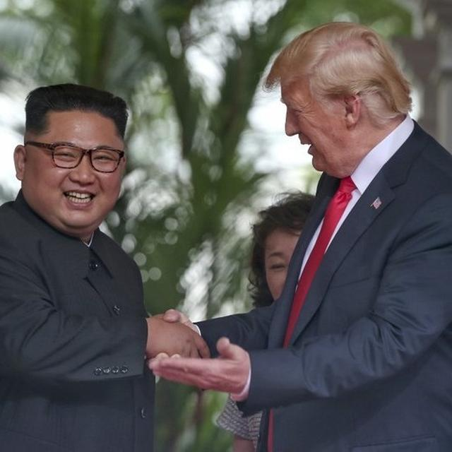 RECEIVED A 'GREAT' LETTER FROM NORTH KOREA'S KOM JONG UN, SAYS DONALD TRUMP