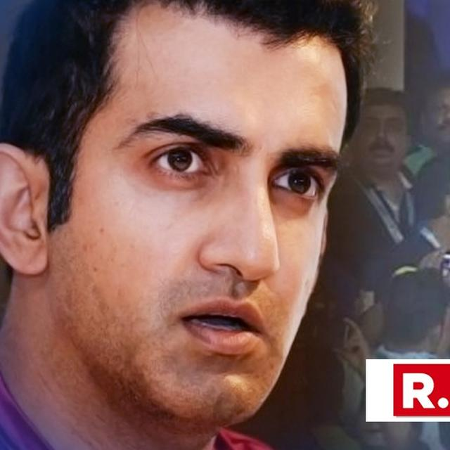 GAUTAM GAMBHIR DEMANDS THAT NAMES OF MATCH-FIXING SUSPECTS IN LODHA COMMITTEE REPORT BE REVEALED