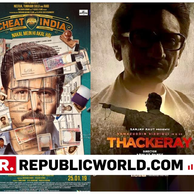 MANIKARNIKA AND CHEAT INDIA TO CHANGE RELEASE DATE TO AVOID CLASH WITH THACKERAY