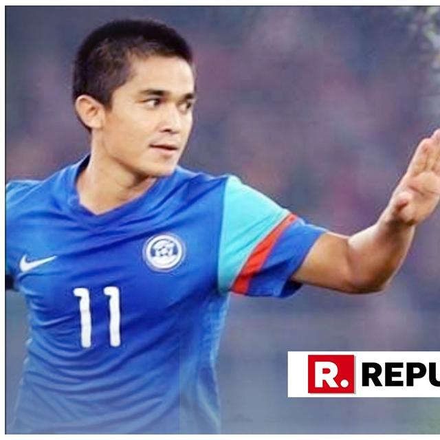 SUNIL CHHETRI STRIKES TWICE IN INDIA'S FIRST ASIAN CUP WIN SINCE 1964, GOES PAST LIONEL MESSI