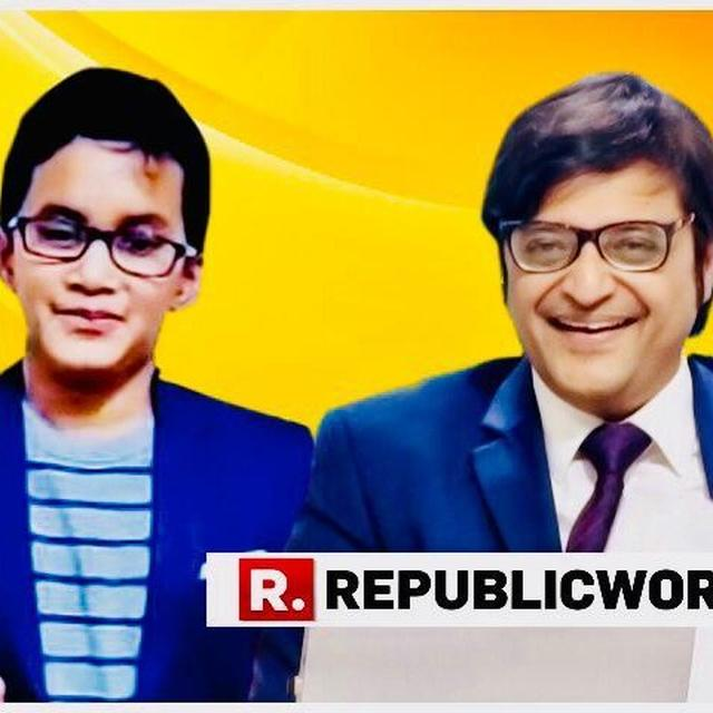 WATCH: BOY SPINS OFF ARNAB'S RAFALE CLIP, VIDEO GOES VIRAL
