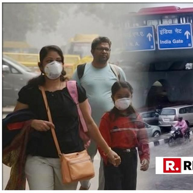 DELHI'S AIR QUALITY IMPROVES AFTER RAINFALL: AUTHORITIES