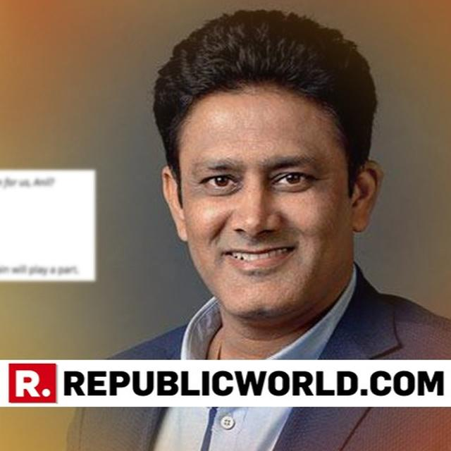 TWITTERATI COME UP WITH HILARIOUS QUESTIONS FOR KUMBLE AFTER HIS ON-SPOT PREDICTION OF INDIA-AUSTRALIA SERIES