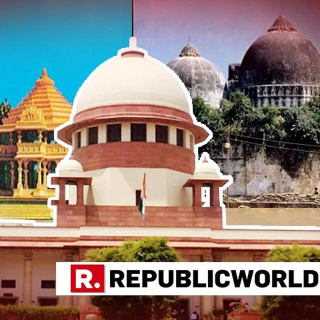 5-JUDGE BENCH OF SC TO HEAR AYODHYA CASE FROM JANUARY 10. HERE'S WHO IS ON THE BENCH