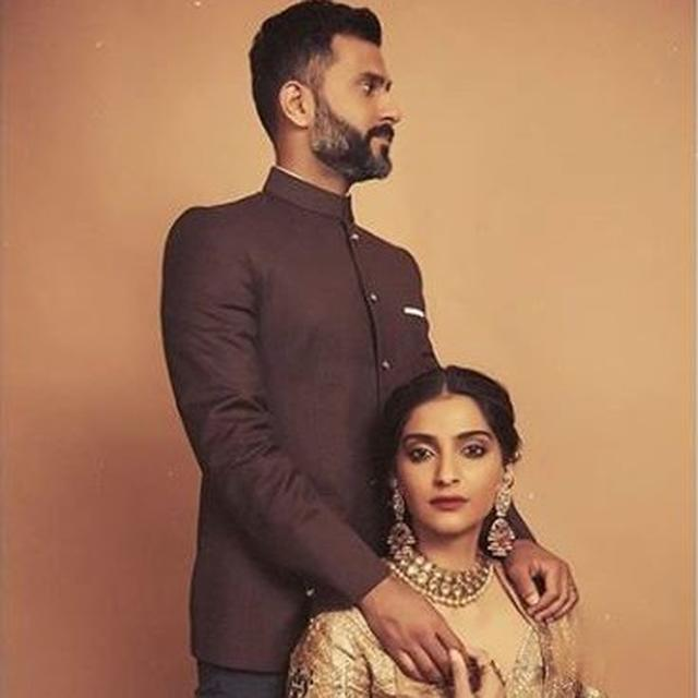 SONAM KAPOOR AND ANAND AHUJA LOOK EVERY BIT REGAL IN THEIR LATEST PHOTOSHOOT