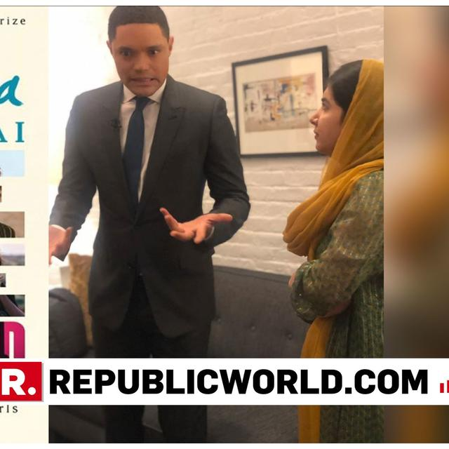 AHEAD OF BOOK RELEASE, MALALA YOUSAFZAI ENGAGES IN BACKSTAGE BANTER WITH COMEDIAN TREVOR NOAH BEFORE HER APPEARANCE ON 'THE DAILY SHOW'