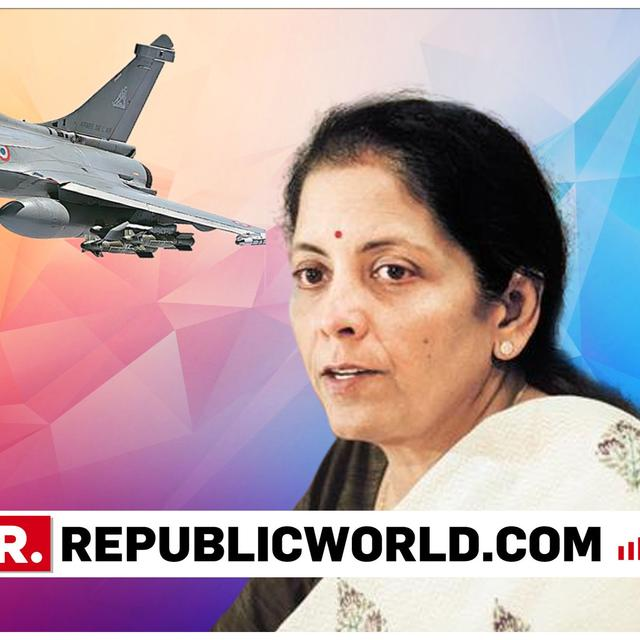 "FINAL RAFALE INTERVIEW:  'LET THE CONGRESS LOOK INTO THEIR BACKGROUNDS, IT WAS A FAMILY THAT SPENT ITS OWN MONEY TO BE IN POLITICS', SAYS NIRMALA SITHARAMAN OVER RAHUL GANDHI'S ""MIDDLE-CLASS BACKGROUND ATTACK"""