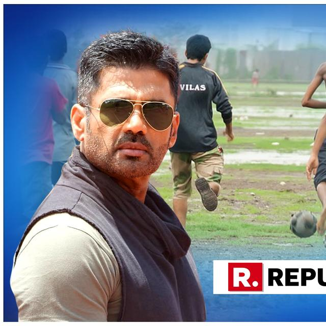 SUNIEL SHETTY GOES GAGA OVER COL RATHORE'S CHALLENGE, HERE'S WHAT HE DOES WHEN HE GETS #5MINUTEAUR