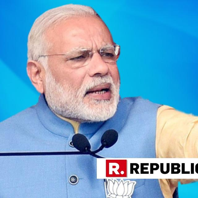 WATCH | PM NARENDRA MODI SAYS OPPOSITION WANTS TO GET RID OF THE CHOWKIDAAR