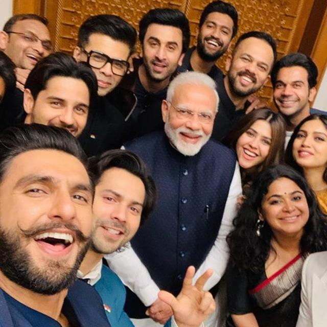 AFTER MEETING BOLLYWOOD FRATERNITY, HERE'S WHAT PM NARENDRA MODI HAD TO SAY