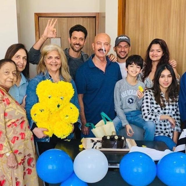 'TODAY WAS A GREAT DAY,' SAYS HRITHIK ROSHAN AS HE CELEBRATES BIRTHDAY WITH FATHER RAKESH ROSHAN