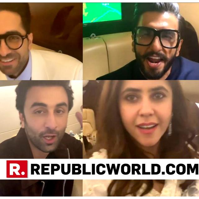 SUPER VIRAL: B-TOWN STARS HAVE BLAST IN THE SKIES