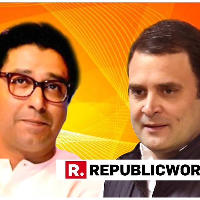 RAJ THACKERAY INVITES RAHUL GANDHI FOR HIS SON'S MARRIAGE