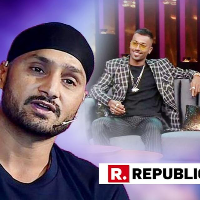 HARBHAJAN SLAMS PANDYA, RAHUL FOR JEOPARDISING REPUTATION OF CRICKETERS