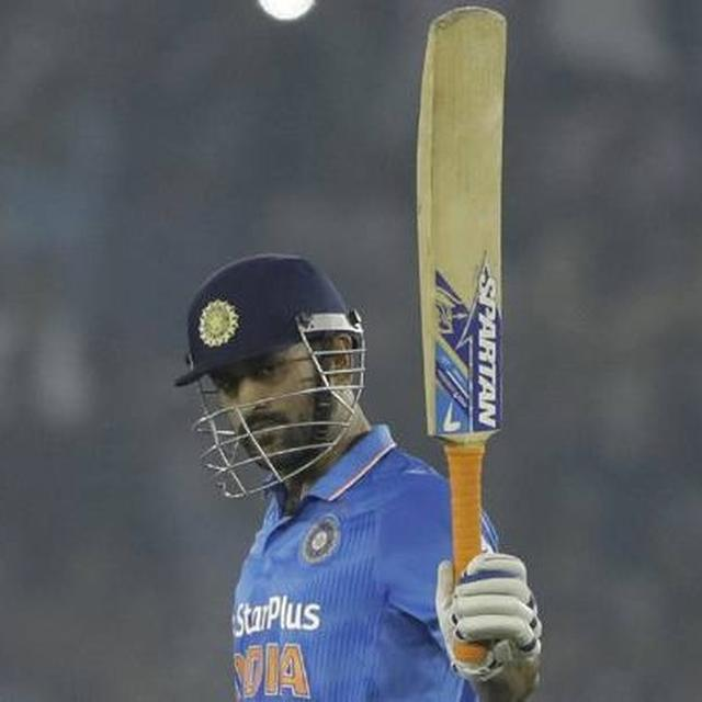 DHONI BECOMES FIFTH PLAYER TO SCORE 10,000 RUNS FOR INDIA IN ODI