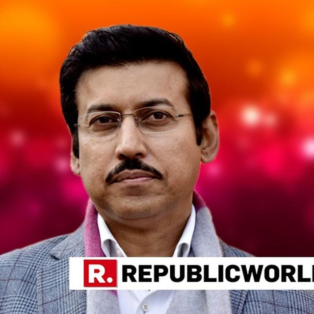 """""""IT DOESN'T MATTER IF QUOTA BILL DIDN'T COME EARLIER, IT'S THE NEED OF THE HOUR NOW"""", SAYS COL RAJYAVARDHAN RATHORE"""