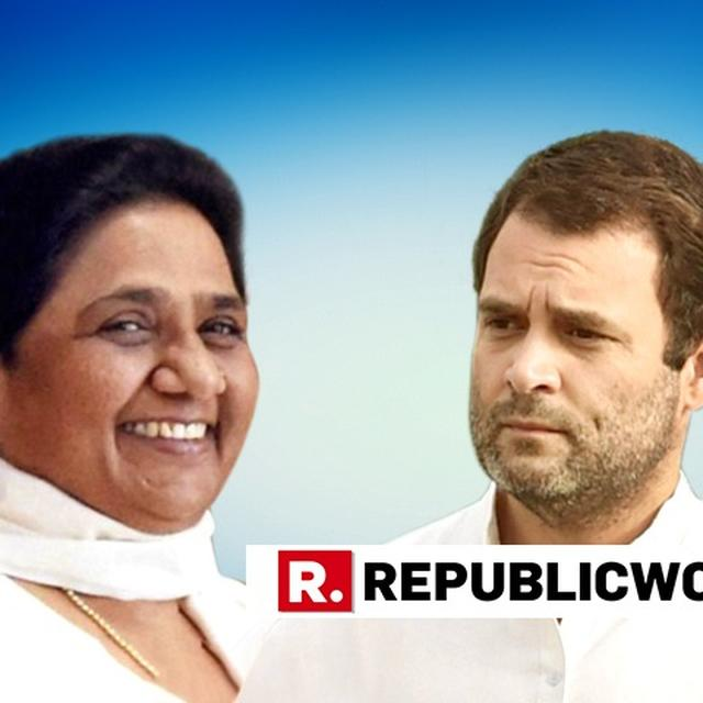 ''CONGRESS TO FIGHT LOK SABHA POLLS IN U.P WITH FULL FORCE'', SAYS RAHUL GANDHI AFTER SP-BSP GATHBANDHAN'S SEAT SHARE ANNOUNCEMENT