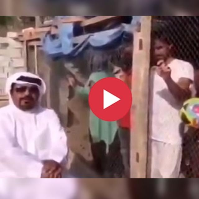 WATCH: UAE MAN LOCKING UP INDIAN FOOTBALL FANS IN A BIRD CAGE GOES VIRAL