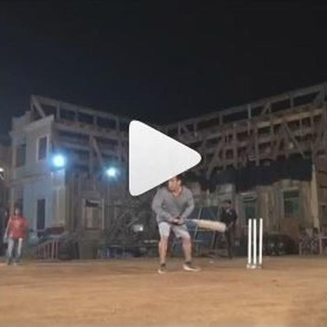 WATCH: SALMAN KHAN ACES CRICKET, SHARES 'ON LOCATION STORIES' FROM THE SETS OF 'BHARAT'