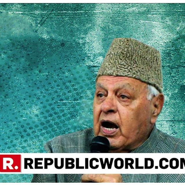 RISING INTOLERANCE SEVERELY AFFECTED RELIGIOUS MINORITIES: FAROOQ ABDULLAH
