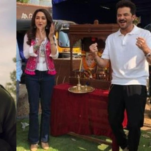 AFTER AJAY DEVGN'S ANNOUNCEMENT OF POPULAR CO-STAR, ANIL KAPOOR, MADHURI DIXIT SHARE A 'TOTAL DHAMAAL' NEWS