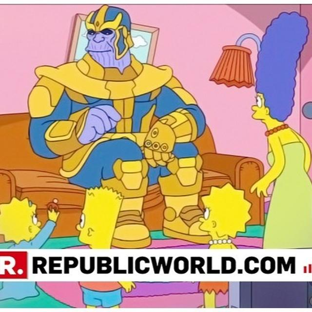 WATCH| 'AVENGERS: ENDGAME' BADDIE THANOS MEETS 'THE SIMPSONS', HERE'S WHAT HAPPENED NEXT