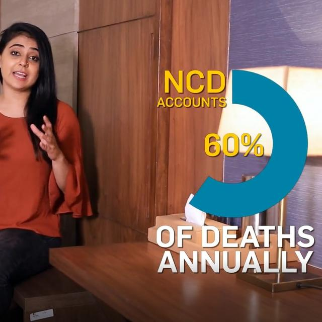 How NCDs have become a major cause of deaths in India?