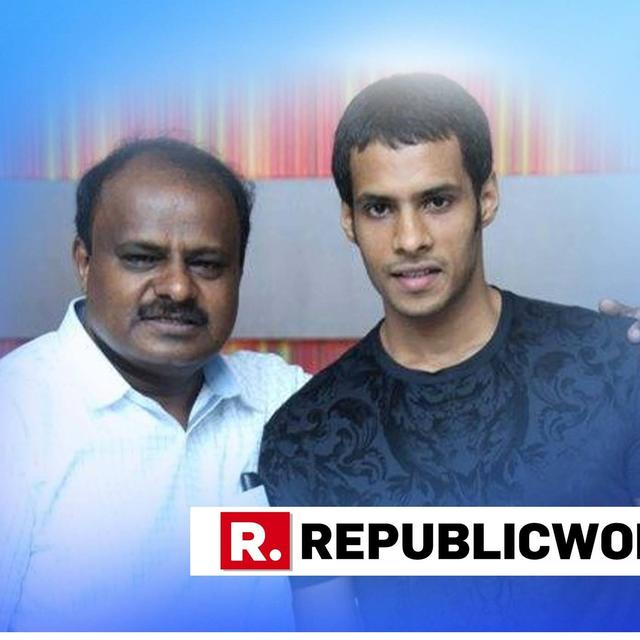 AMID POLITICAL TURMOIL, KUMARASWAMY WATCHES TRAILER OF SON'S MOVIE
