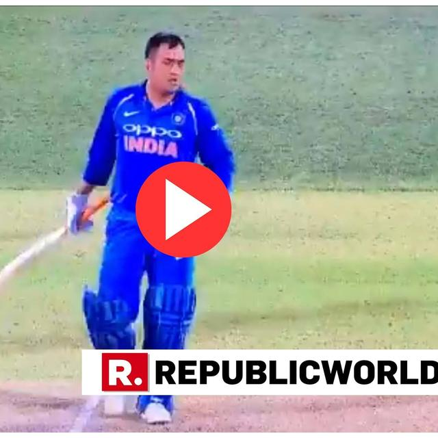 WATCH: DHONI'S BLUNDER GOES UNNOTICED AS HE SURVIVES RUN-OUT