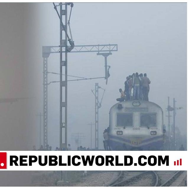 FOGGY WEATHER DISRUPTS RAIL, AIR TRAFFIC IN DELHI