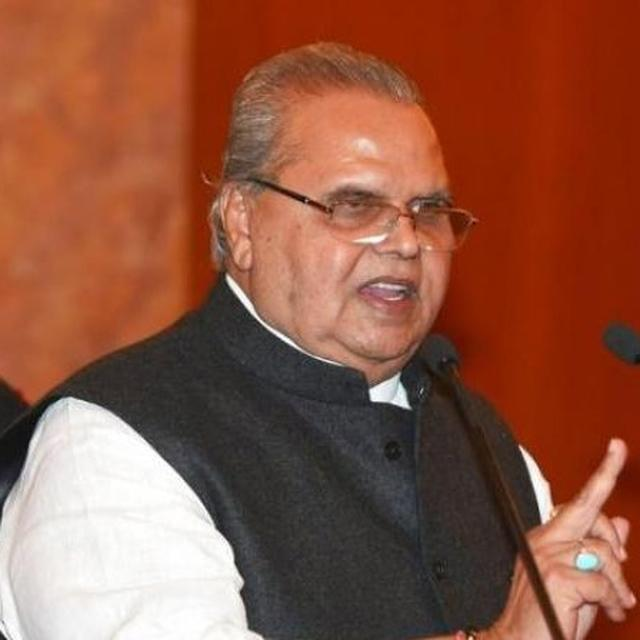 CORRUPTION IS TO CONFLICT WHAT AIR IS TO FIRE, GOVERNOR MALIK IS JAMMU AND KASHMIR'S NEW FIREMAN