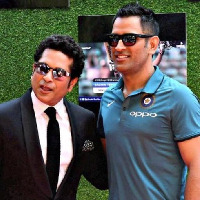 SACHIN TENDULKAR EXPECTS M S DHONI TO CONTROL THE GAME FROM ONE END NOW