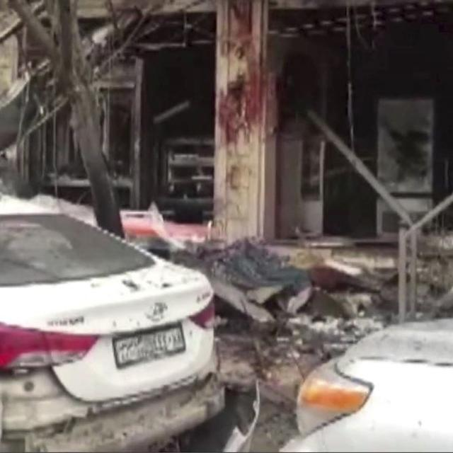 IS CLAIMS SYRIA ATTACK ON US-LED COALITION