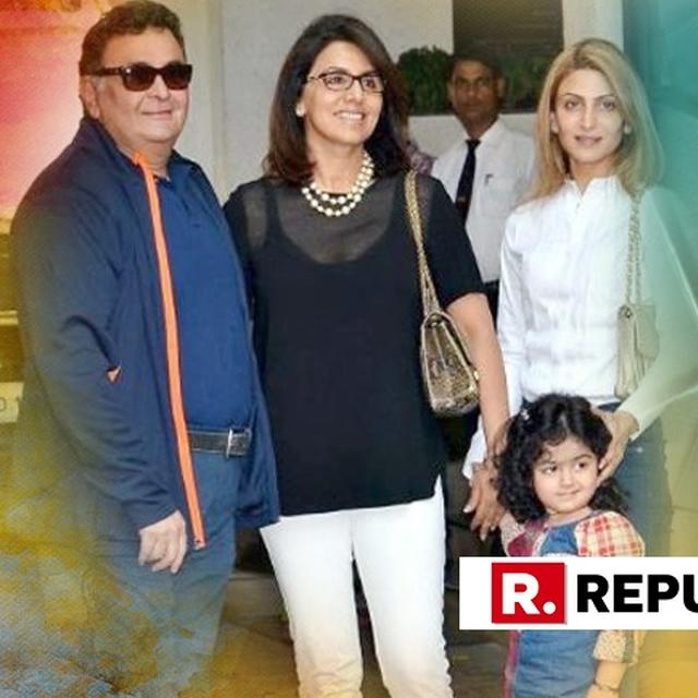 NEETU KAPOOR'S HILARIOUS DESCRIPTION OF 'LUNCH DATE' WITH RISHI KAPOOR LEAVES RIDDHIMA, ABHISHEK BACHCHAN, HUMA QURESHI IMPRESSED