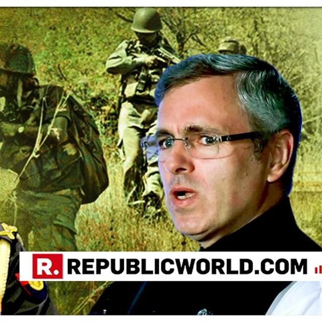 INDIAN ARMY CALLS 2018 A GOOD YEAR FOR SECURITY FORCES, OMAR ABDULLAH BEGS TO DIFFER