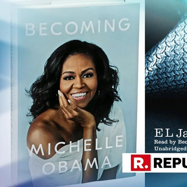 MICHELLE OBAMA'S 'BECOMING' BREAKS RECORD SET BY 'FIFTY SHADES OF GREY'